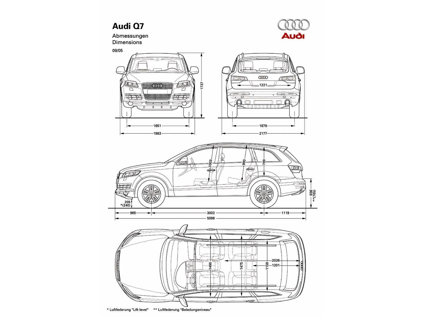 Q7 42tdi Quattro Tiptronic Q7 Dane Techniczne Audi Klub Polska